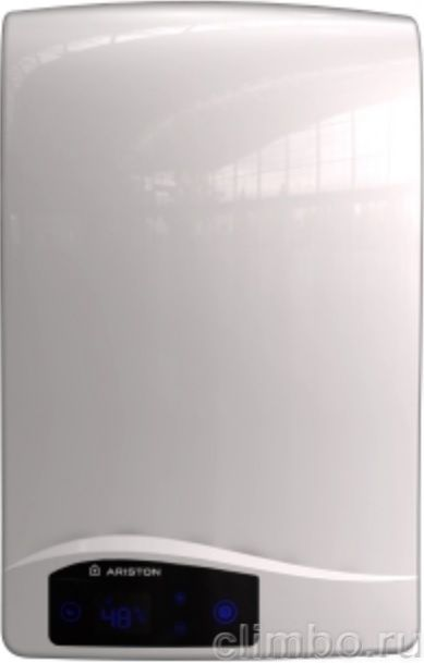 Газовый проточный водонагреватель Ariston фото